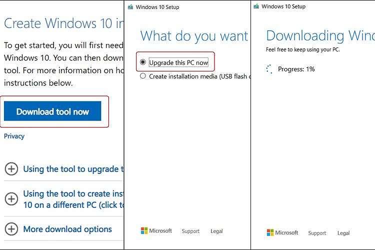 Upgrade Windows 7 ke Windows 10 secara gratis