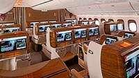 Emirates Punya Kursi Anti Gravitasi di First Class?