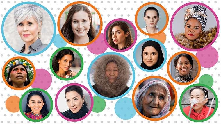 100 Women branding