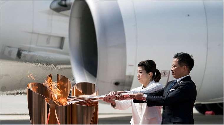Api Olimpiade telah sampai di Tokyo (20/3)