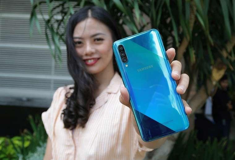 Samsung Resmi Luncurkan Galaxy A50s di Indonesia 2