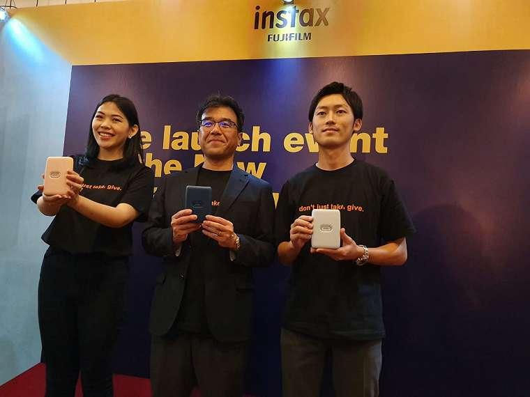 Fujifilm Luncurkan Printer untuk Smartphone, INSTAX Mini Link 10