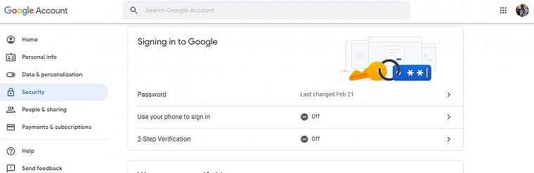 [Tips] Mengaktifkan Autentifikasi Dua Faktor Akun Google 2