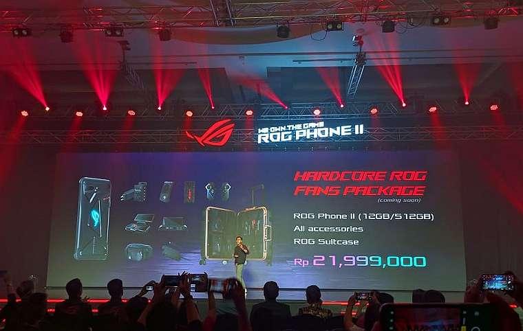Harga Mulai 8 Jutaan Rupiah, Asus ROG Phone II Resmi Meluncur di Indonesia 2