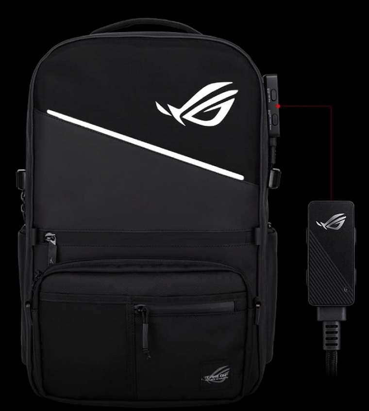 Asus ROG Ranger BP3703 Gaming Backpack: Tas Modular dengan Lampu RGB dan One-Touch Controller 13
