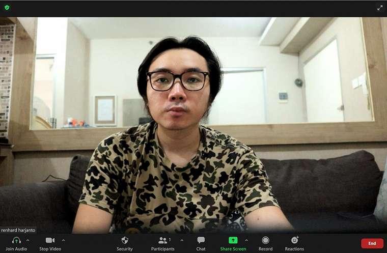 canon EOS M6 Mark II webcam 1