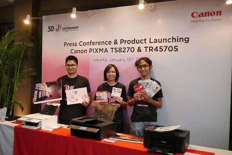 Canon PIXMA TS8270 dan Canon PIXMA TR4570s, Duo Printer Untuk Berkreasi dan Cetak Dokumen 13
