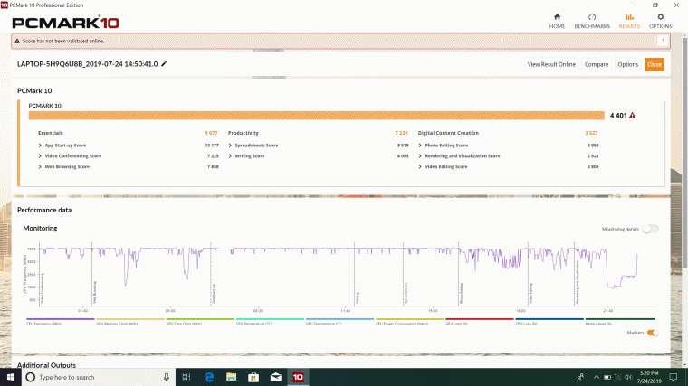 Asus Vivobook Benchmark (2)