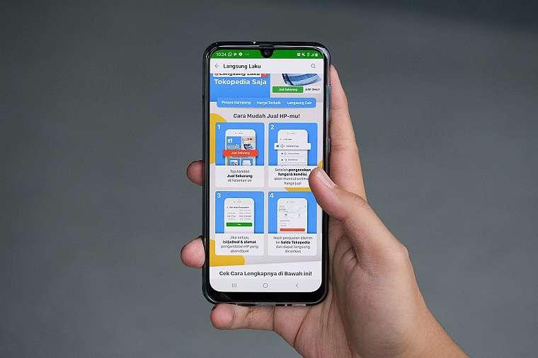 Tokopedia Langsung Laku: Tawarkan Kemudahan Menjual Smartphone Lama Secara Cepat 1