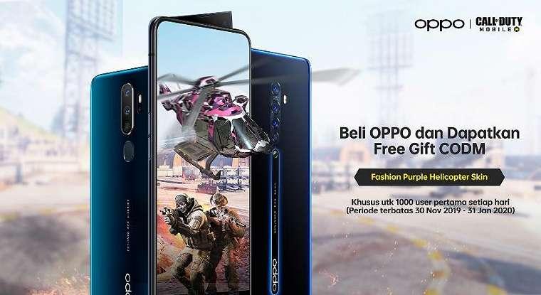 OPPO Bagi-Bagi Hadiah Gratis untuk Pemain COD Mobile 1