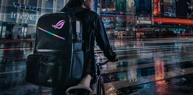 Asus ROG Ranger BP3703 Gaming Backpack: Tas Modular dengan Lampu RGB dan One-Touch Controller 11