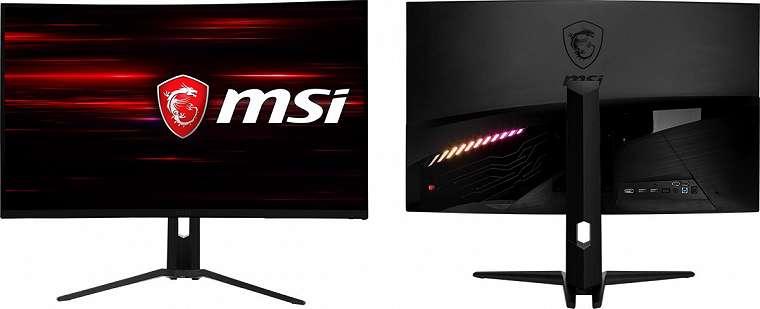MSI Optix MAG322CR: Monitor Gaming Pertama dengan Panel Layar Lengkung dan Refresh Rate 180 Hz 12