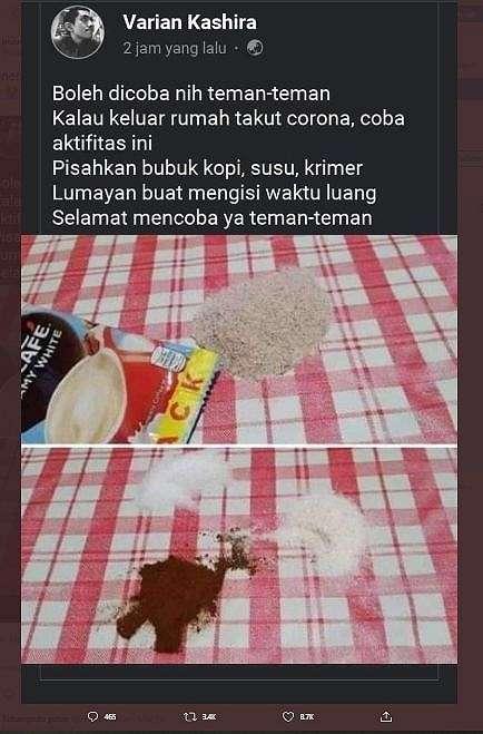 Tips Hilangkan Gabut saat Work from Home. (twitter.com/inuurl)