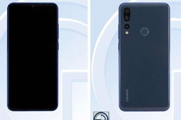 Smartphone misterius Lenovo. (TENAA via Gizmochina)