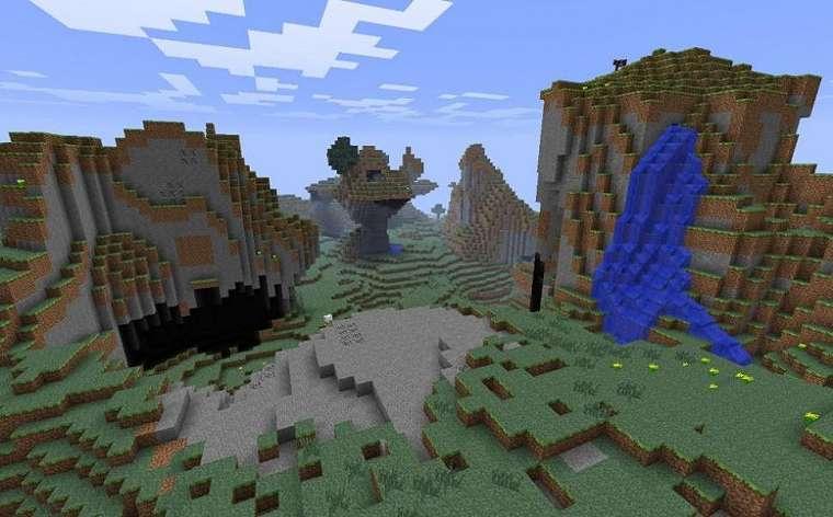 Ilustrasi Overworld. (Fandom Minecraft)