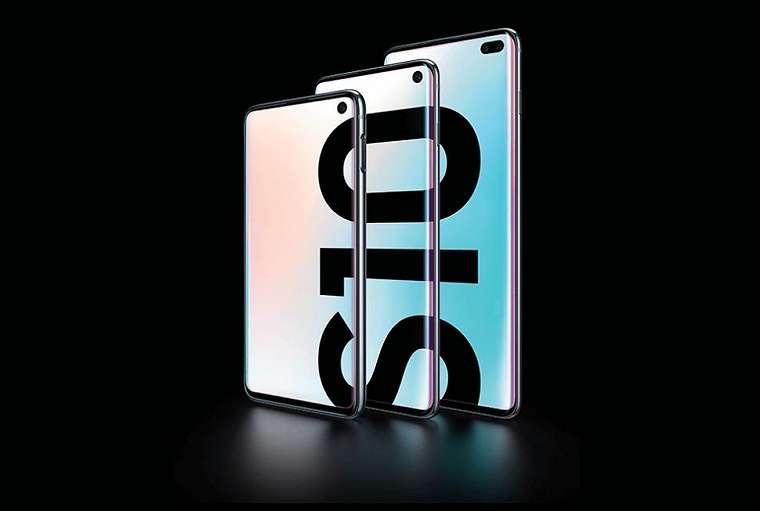 Smartphone Samsung Galaxy S10 series. (Samsung)