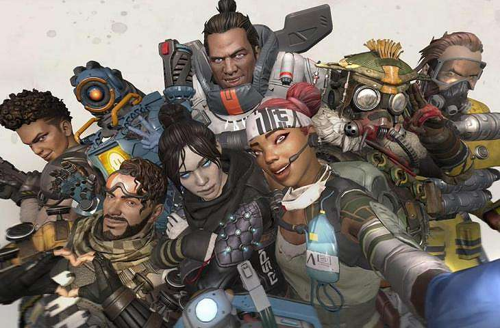 Game battle royale Apex Legends. (Apex Legends)