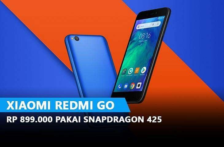 Smartphone Xiaomi Redmi GO. (Mi.com)
