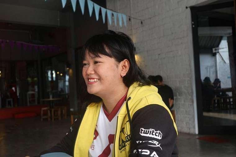 Felicia Huang, caster cewek asal Yogyakarta. (/Amelia Prisilia)