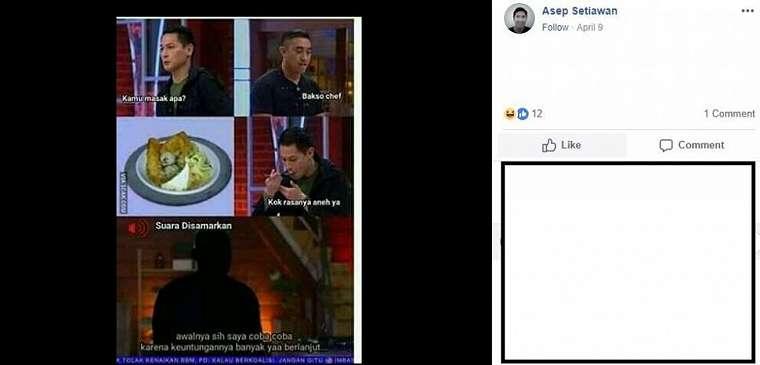 Meme MasterChef 7. (Facebook/ @AFR.weigel)b