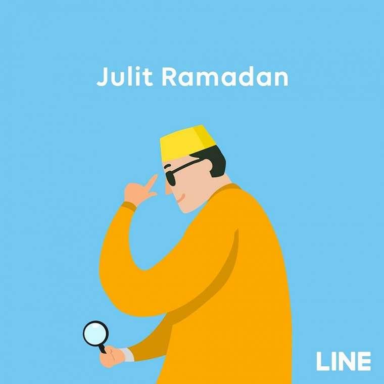 Line Ramadan. (Instagram/@line.indo)