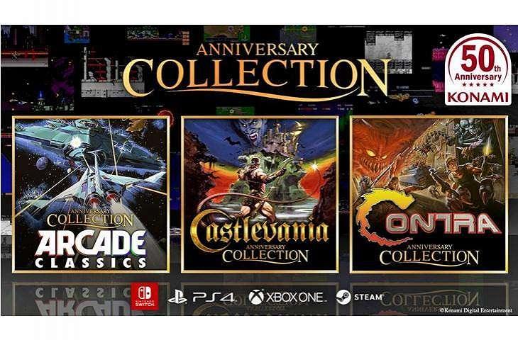 Anniversary Collection dari Konami selain Castlevania. (Konami)