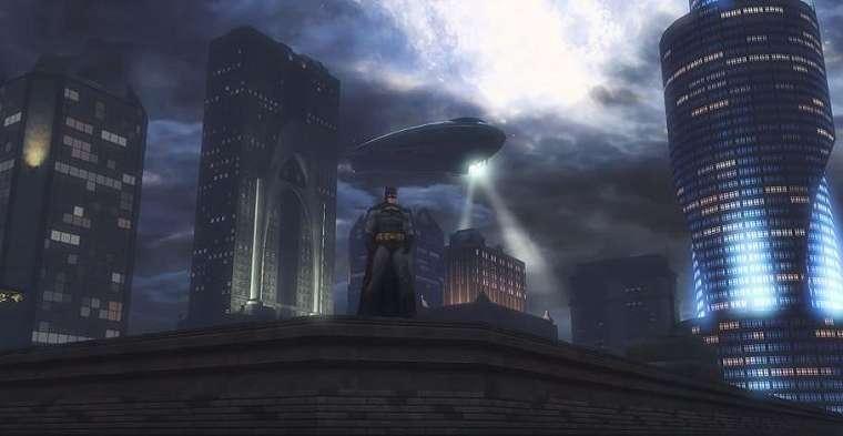 Tampilan Batman di Gotham City. (YouTube/ DC Universe™ Online)