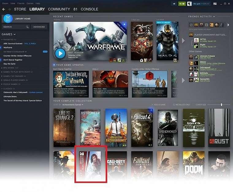 Game PC EA muncul Steam. (Steam)