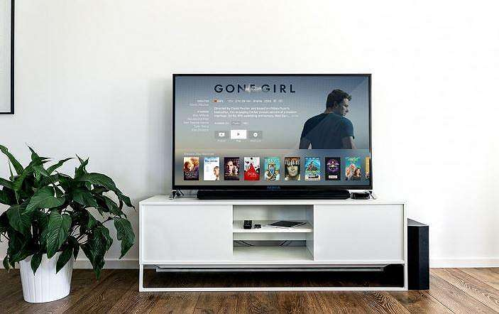 Ilustrasi smart TV. (GSM Arena)