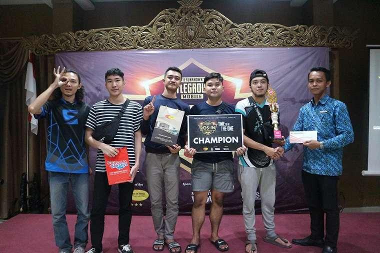 ASUNA eSports meraih juara pertama Ros-In PUBG Championship. (HiTekno/ Rezza Rachmanta)