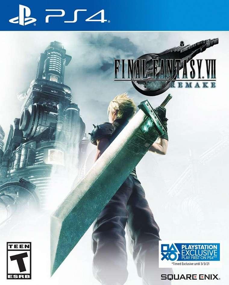 Bocoran cover Final Fantasy VII Remake di PlayStation 4. (Twitter/ Wario64)