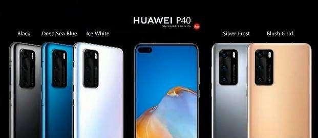 Varian warna Huawei P40. (YouTube/ Huawei Mobile)