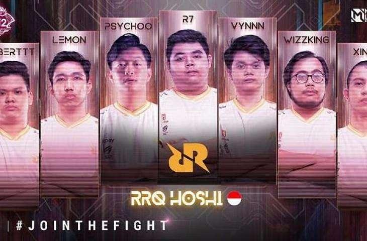 Roster RRQ Hoshi di M2 World Championship. (instagram/ mpl.id.official)