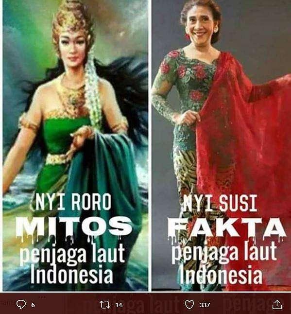 Meme ilustrasi dari netizen. (Twitter/ wignyotaruno)