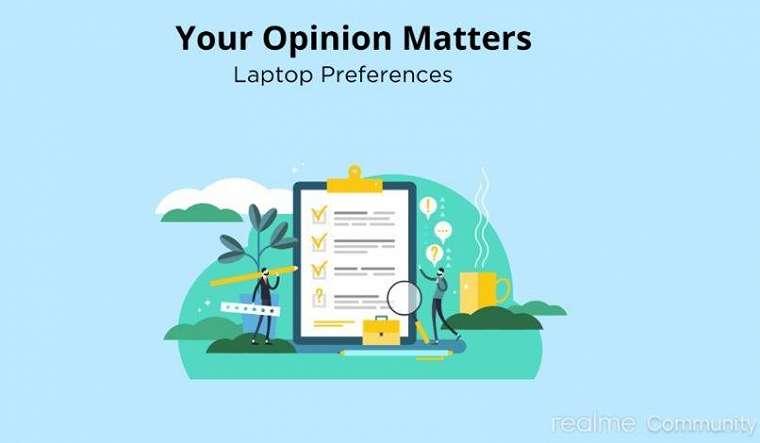 Survei pada Google Form ini mengindikasikan laptop Realme. (Realme Community)