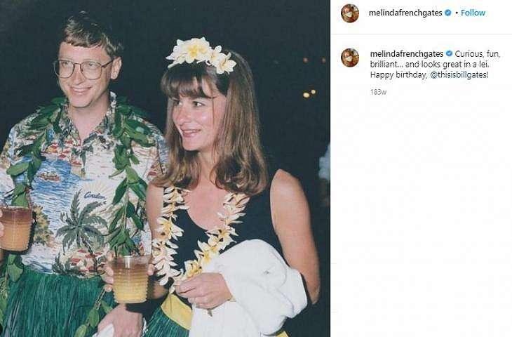 Potret Bill Gates dan Melinda Gates. (Instagram/@melindafrenchgates)