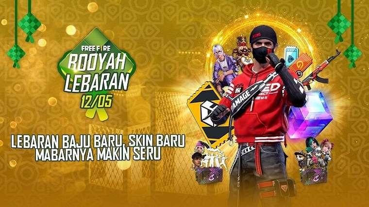 Garena Free Fire gelar event sambut Lebaran. (Garena)