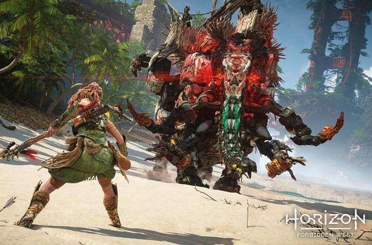 Horizon Forbidden West. (PlayStation)