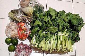 Potret sayuran. (Twitter/@FOODFESS)