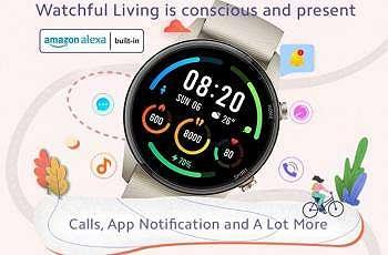 Teaser smartwatch terbaru Xiaomi Mi Watch Revolve Active. (Xiaomi India)
