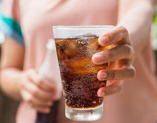 Ilustrasi minuman bersoda. (Shutterstock)
