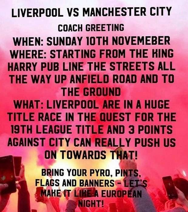Poster fans Liverpool. (Dok. The Guardian).