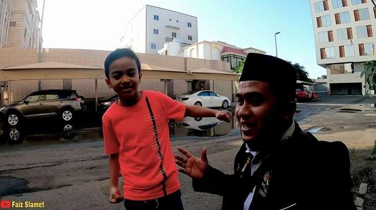 Farid, bocah 8 tahun keturunan Madura jadi miliarder di Arab (YouTube).