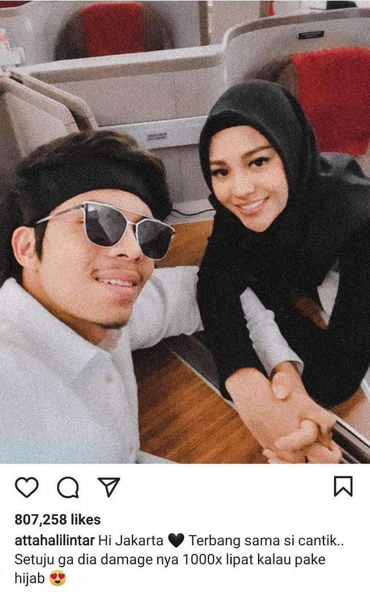Aurel Hermansyah dan Atta Halilintar (Instagram/ Atta Halilintar)