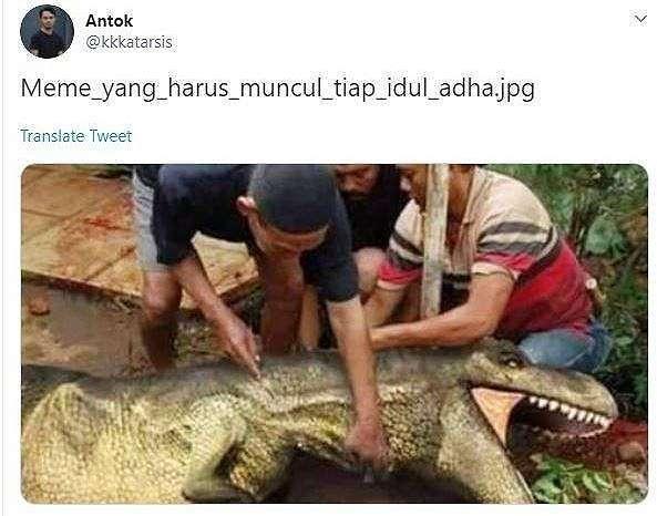 Meme Idul Adha. (Twitter)