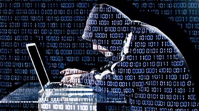 Ilustrasi peretas (hacker). (Shutterstock/Benoit Daoust)