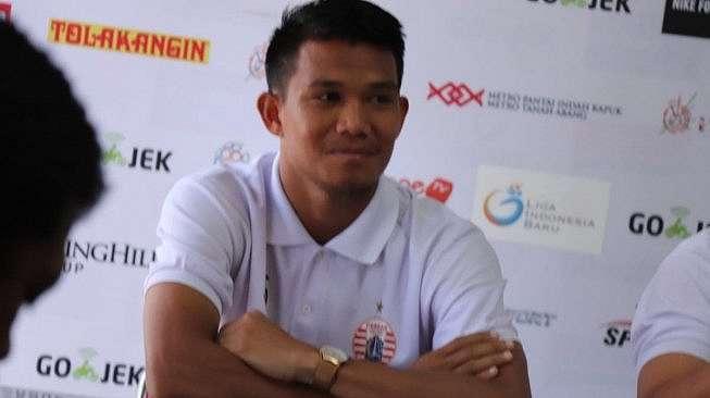 Pemain Persija Jakarta Sandi Darma Sute (dok. Media Persija).