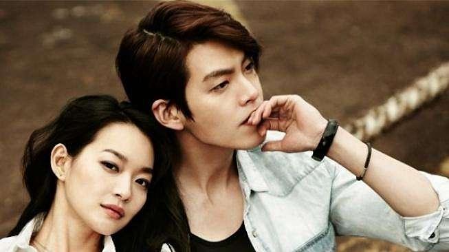 Kim Woo Bin dan Shin Min Ah (Soompi)