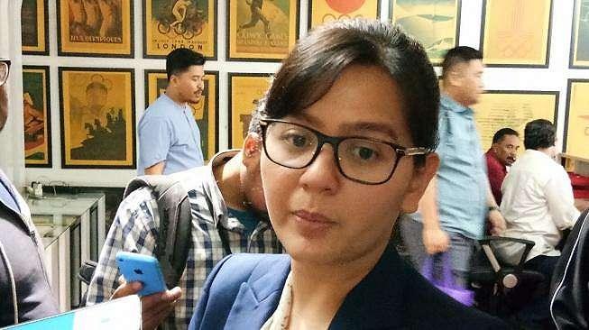 Sekretaris Jenderal PSSI Ratu Tisha Destria ditemui di Kantor PSSI, Gedung Fx, Sudirman, Jakarta, Rabu (13/2/2019). [Adie Prasetyo]