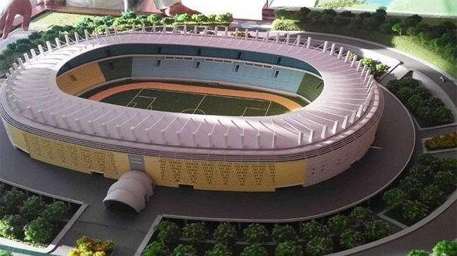 Layout Jakarta International Soccer Stadium alias Stadion BMW. [Instagram @bmw_stadium]